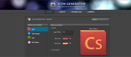 Icon Generator Website