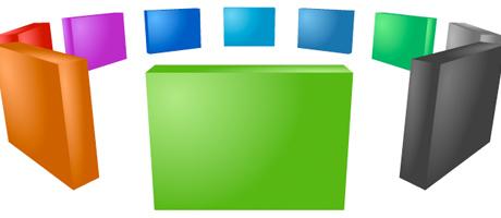 progression meets papervision3d