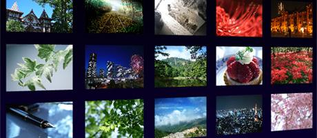Papervision3D スライドショー